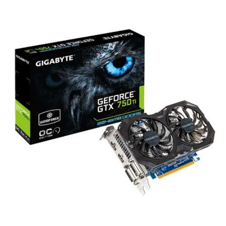 Gigabyte GTX 750 Ti 2GB GV-N75TOC2-2GI Graphic Card