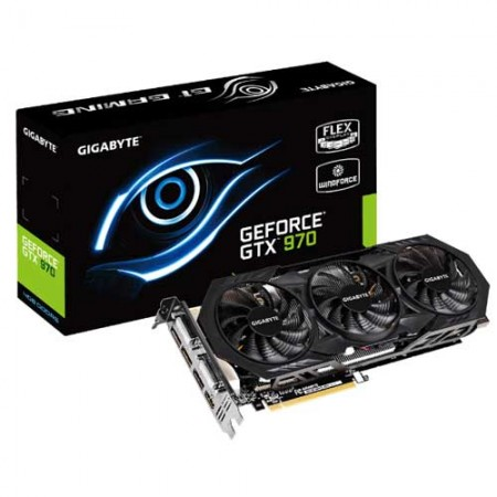 Gigabyte GTX 970 4GB Windforce 3X Edition GV-N970WF3-4GD Graphic Card