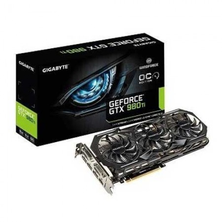 Gigabyte GTX 980Ti 6GB WINDFORCE 3X OC EDITION GV-N98TWF3OC-6GD Graphic Card