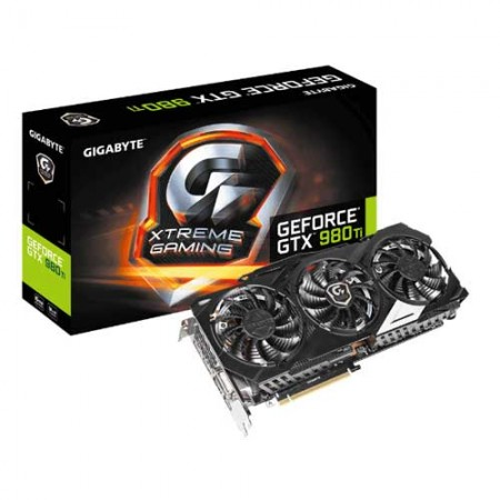Gigabyte GTX 980Ti 6GB XTREME GAMING OC EDITION GV-N98TXTREME-6GD Graphic Card
