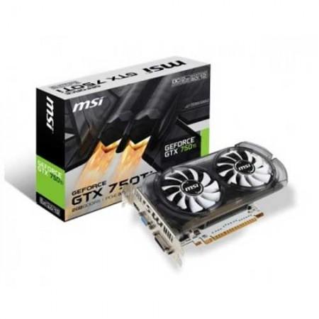 MSI GTX 750Ti N750TI-2GD5T/OC 2GB Graphic Card