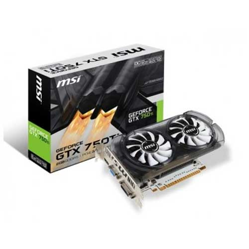 MSI GTX 750Ti N750TI-2GD5T/OC 2GB Graphic Card