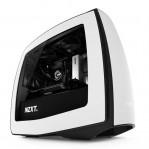 NZXT Manta White + Black Mini ITX Gaming PC Case CA-MANTW-W1