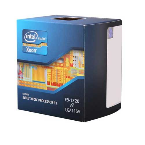 Intel Xeon E3-1220 V2 Ivy Bridge 3.1GHz LGA 1155 Server Processor