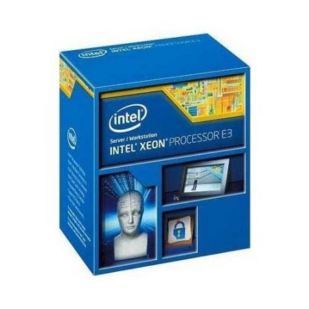 Intel Xeon E3-1231V3 Haswell 3.4 GHz LGA 1150 80W Server Processor