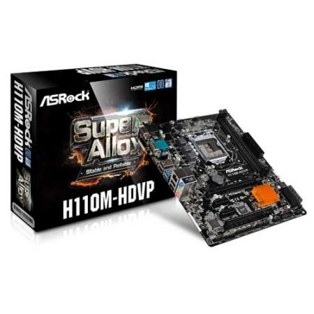 ASRock-Super-Alloy-H110M-HDVP-Socket-1151-Motherboard