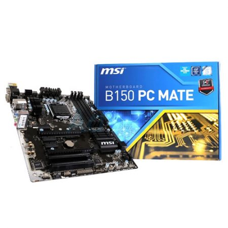 MSI B150 PC MATE LGA 1151 Motherboard