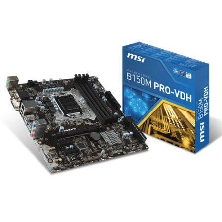 MSI B150M PRO-VDH LGA 1151 Motherboard
