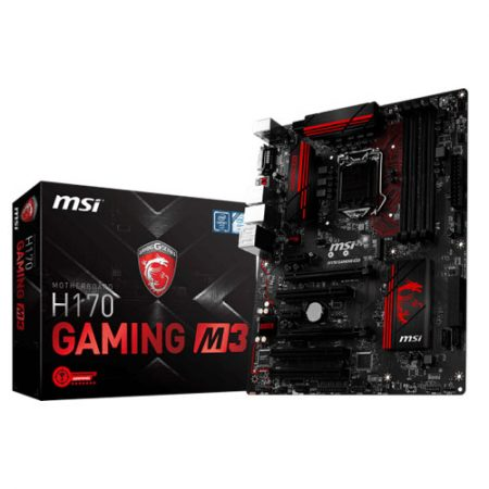 MSI H170 GAMING M3 LGA 1151 Motherboard