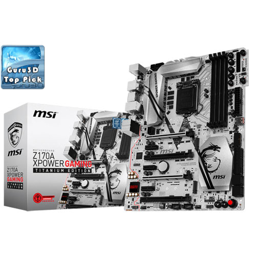 MSI Z170A XPOWER GAMING TITANIUM EDITION LGA 1151 Motherboard