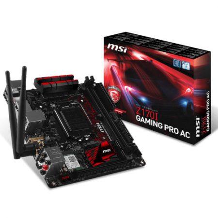 MSI Z170I GAMING PRO AC LGA 1151 Motherboard