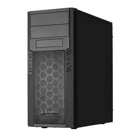 SilverStone Precision Series SST-PS13B-W Black PC Cabinet