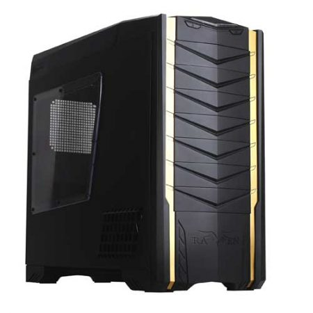 SilverStone Raven SST-RV03B-W W/Window Full Tower Case