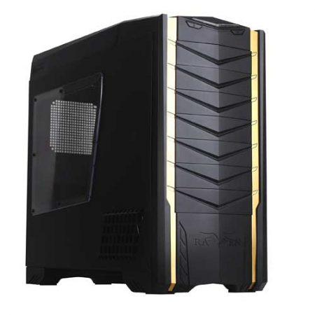 SilverStone Raven SST-RV03B-W W/Window Full Tower Case