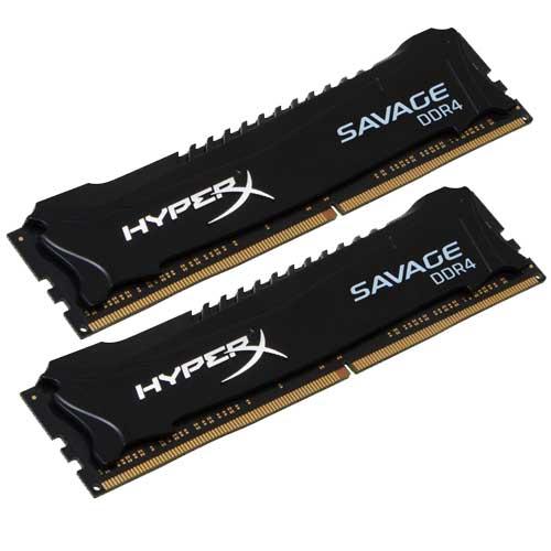 HyperX Savage Series 16GB 2400MHz DDR4 Memory HX424C12SB2K2/16