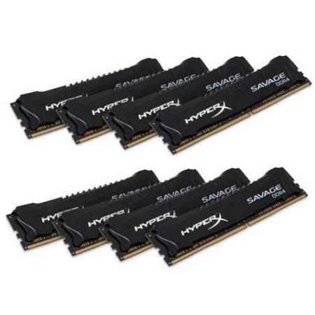 HyperX Savage Series 64GB 2800MHz DDR4 Memory HX428C14SB2K8/64
