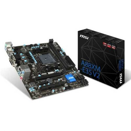 MSI A88XM-E35 V2 Socket FM2+ Motherboard