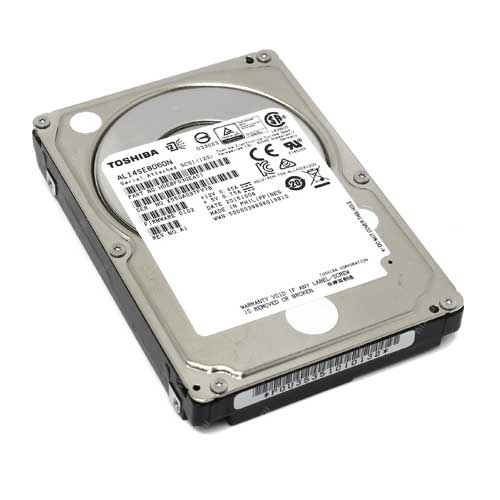 "Toshiba 600GB 2.5"" 10000 RPM Notebook Enterprise Internal Hard Drive AL14SEB060N"