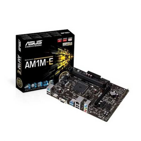 Asus AM1M-E 32GB DDR3 AMD Motherboard