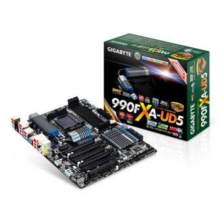 Gigabyte GA-990FXA-UD5 Socket AM3 Motherboard