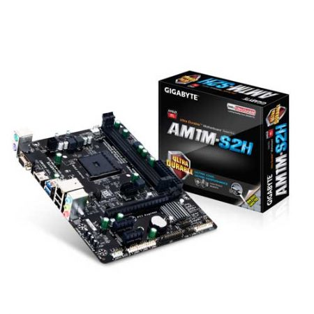 Gigabyte GA-AM1M-S2H Socket AM1 Motherboard