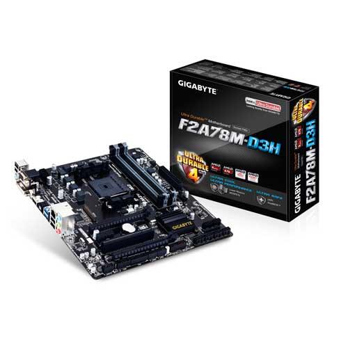 Gigabyte GA-F2A78M-D3H Socket FM2+ Motherboard