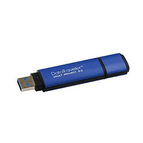 Kingston DataTraveler Vault Privacy 64GB 3.0 USB flash drive DTVP30/64GB