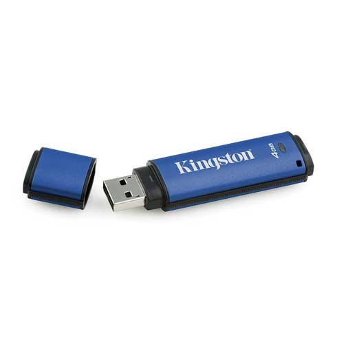 Kingston DataTraveler Vault Privacy 64GB 3.0 USB Flash DTVP30DM/64GB