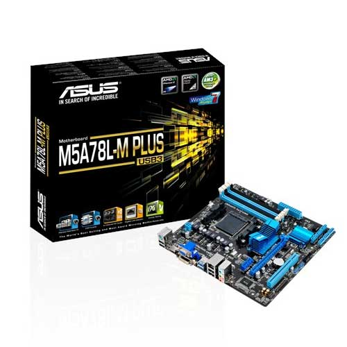 ASUS M5A78L-M PLUS/USB3 Socket AM3 Motherboard