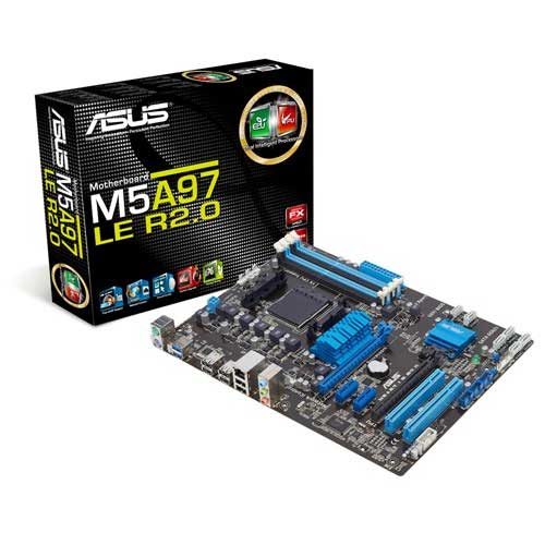 ASUS M5A97 LE R2.0 Socket AM3 Motherboard