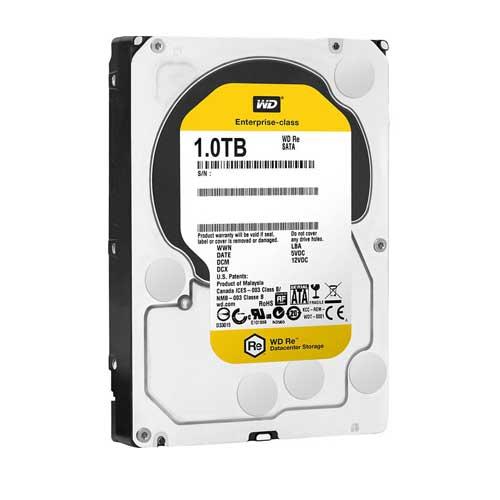 "Western Digital 1TB 3.5"" 7200 RPM Desktop Datacenter Gold Internal Hard Drive WD1004FBYZ"