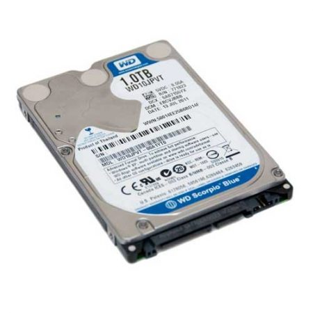 "Western Digital 1TB 2.5"" 5400  RPM Notebook Internal Hard Drive WD10JPVX"