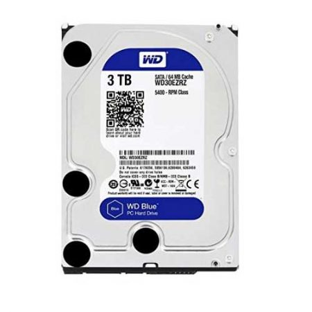 "Western Digital 3TB 3.5"" 5400 RPM Desktop Internal Hard Drive WD30EZRZ"