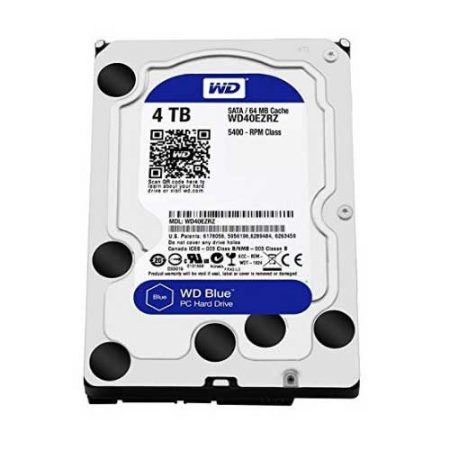 "Western Digital 4TB 3.5"" 5400 RPM Desktop Internal Hard Drive WD40EZRZ"