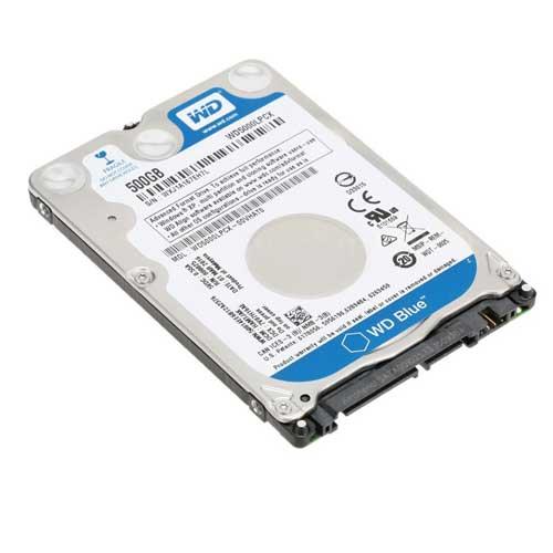 """Western Digital 500GB 2.5"""" 5400 RPM Notebook Internal Hard Drive WD5000LPCX/VX"""