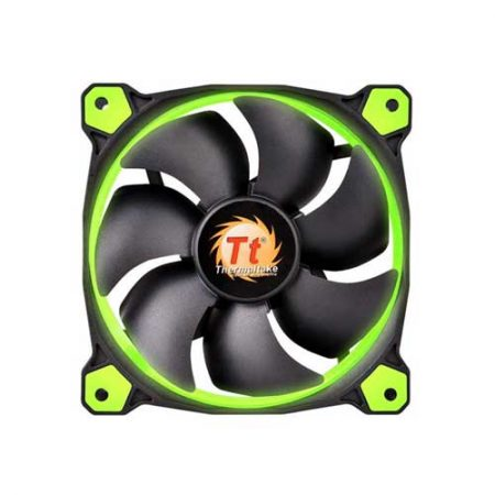 thermaltake-riing-12-high-static-pressure-green-led-radiator-fan-cl-f038-pl12gr-a