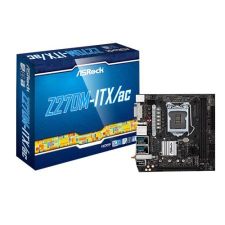 ASRock-Z270M-ITX-ac-LGA1151-INTEL-Z270-Mini-ITX--Motherboard