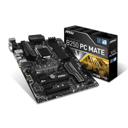 MSI B250 PC MATE Socket 1151 Intel B250 Motherboard