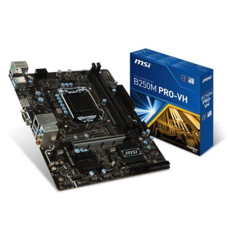 MSI B250M PRO-VH Socket 1151 Intel B250 Motherboard