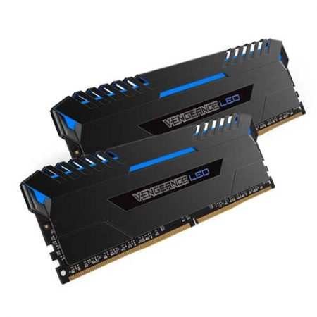 Corsair-VENGEANCE-LED-16GB-DDR4-3000MHz-C15-Memory-Kit-Blue-LED-CMU16GX4M2C3000C15B