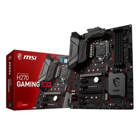 MSI H270 GAMING M3 Socket 1151 Intel H270 Motherboard