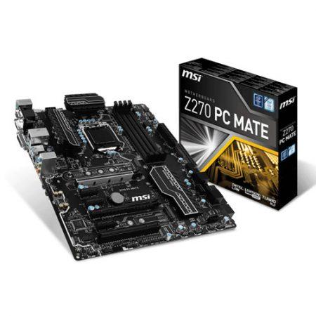 MSI Z270 PC MATE Socket 1151 Intel Z270 Motherboard