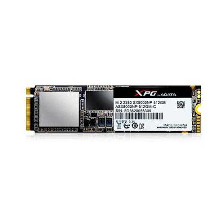 A-DATA-ASX8000NP-512GM-C-512GB-SSD-SX8000-M.2-2280-PCIe-Gen3x4-NVMe