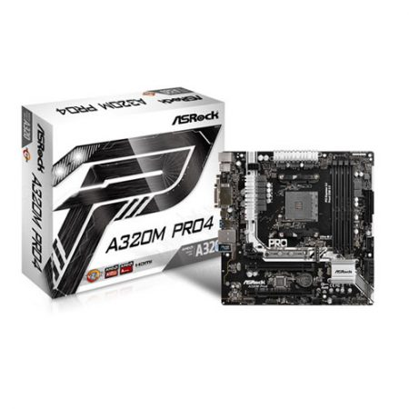 ASRock A320M Pro4 Socket AM4 Motherboard