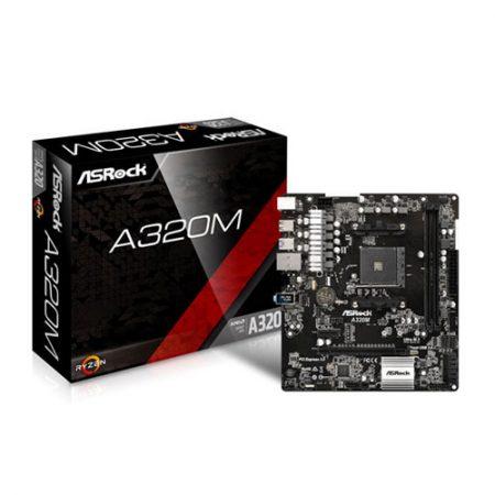 ASRock A320M Socket AM4 Motherboard