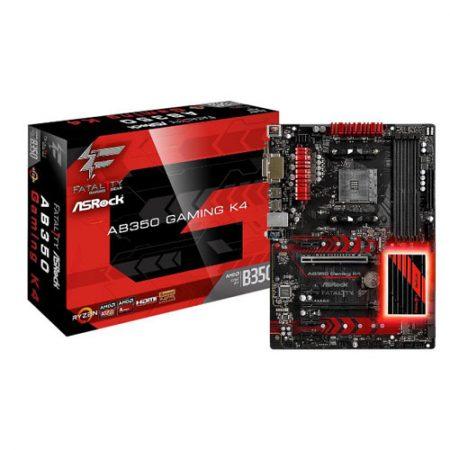 ASRock AB350 Gaming K4 Socket AM4 Motherboard