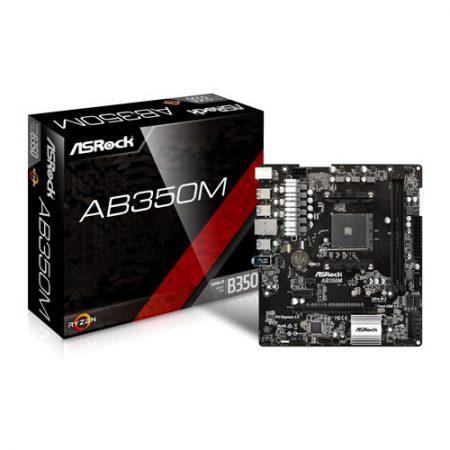 ASRock AB350M Socket AM4 Motherboard