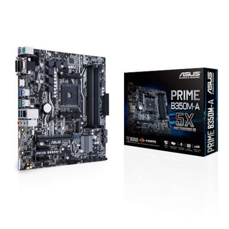 ASUS PRIME B350M-A Socket AM4 Motherboard