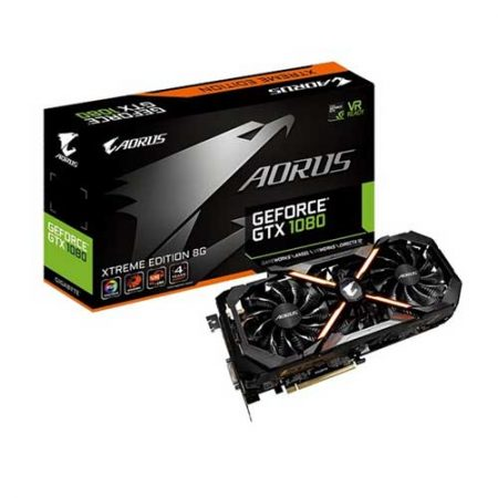 Gigabyte AORUS GeForce GTX 1080 xtreme edition 8G Graphic Card GV-N1080AORUS X-8GD