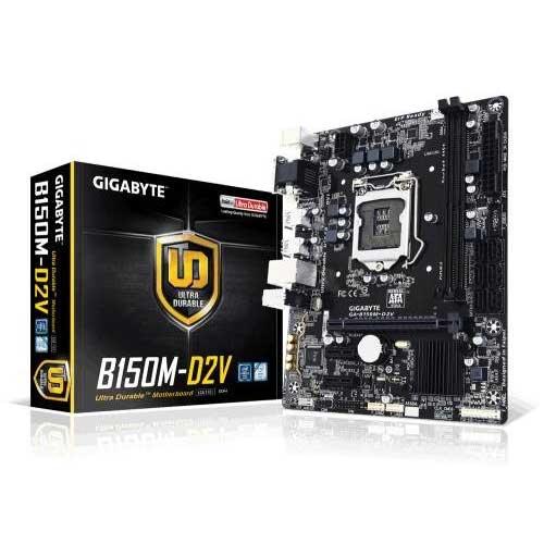 Gigabyte GA-B150M-D2V Motherboard